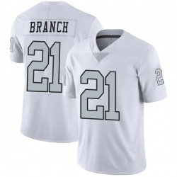 Limited Men's Cliff Branch Oakland Raiders Nike Color Rush Jersey - White